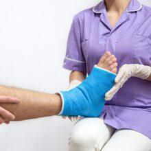 Fisioterapia Granada esguince de tobillo